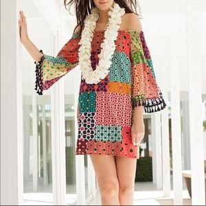 Trina Turk Amaris Shangri La patchwork dress sz 6